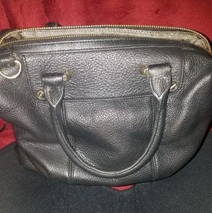 VC Leather Satchel